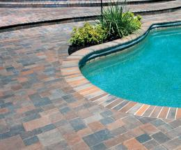 Artisan Paver and Bullnose Pool Overlay