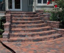 Combined Concrete Products Walkway & Steps